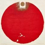陳庭詩 晝夜之七十九 60 x 60厘米 木刻版畫 1983