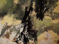 馮鍾睿 1974-16 80 x 102.3厘米 紙本丙烯 1974