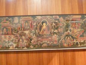 十七世紀西藏一張巨型佛畫。