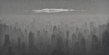 心境No.22,135 x 266厘米,油彩布本,2014