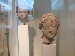 三至四世紀阿富汗Hadda地區少女像。