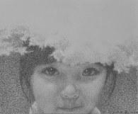 表情No.5,43 x 52厘米,鉛筆描畫紙本,2016