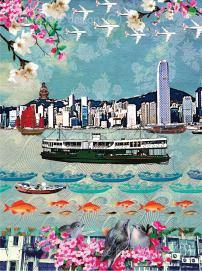 """Hong Kong Ferry"" by Louise Hill"