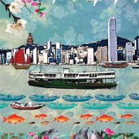 """Hong Kong Ferry"" by Louise Hill"
