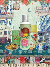 """""""Hong Kong Mahjong"""" by Louise Hill"""