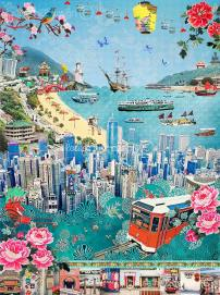 """""""We Love Hong Kong"""" by Louise Hill"""
