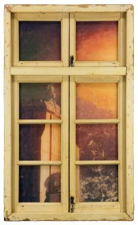 Li Qing, Neighbour's Window, Statue of a Poet, 2016; Courtesy to the artist and David Zwirner Gallery