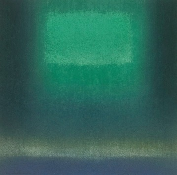 IN DARK GREEN Jun '15 Katsuyoshi Inokuma 30.0 x 30.0 2015 Pastel on Paper