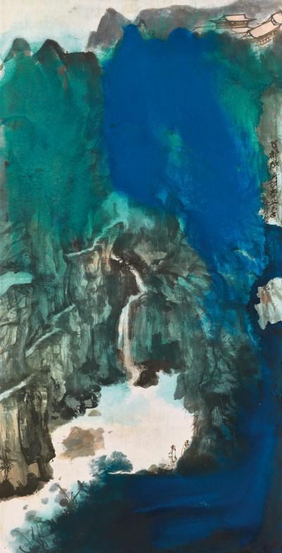 2018_hgk_15955_1379_000zhang_daqian_viewing_the_waterfall