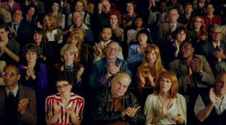 ALEX PRAGER, Applause, 2016, single-channel video, color duration: 10 seconds, 12.5 x 19.5 x 3.63 inches (framed), 31.8 x 49.5 x 9.2 cm; Courtesy Alex Prager Studio and Lehmann Maupin, New York and Hong Kong.