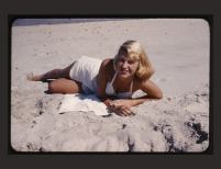"Sylvia ""Marilyn"" Shot | Gordon Ames Lameyer | June 1954, Photograph | Courtesy The Lilly Library, Indiana University, Bloomington, Indiana"