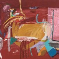 特麗莎.馬加列斯,澳門,布本丙烯及拼貼,60 x 73厘米,1991年