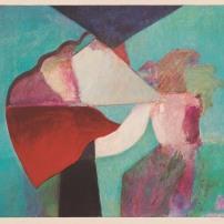 梅內斯,無題,孔版-絲網版,70.3 x 80厘米,1980年