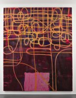 Alex Hubbard Untitled, 2011 Acrylic, resin and fiberglass on canvas 238 x 198 cm (93 3/4 x 78 in.)