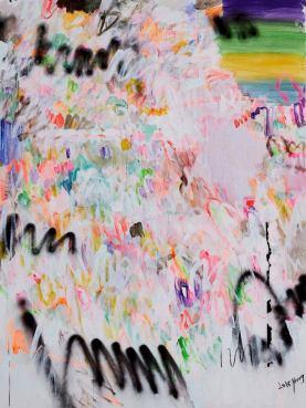 Yang Shu WT 2018 No.5, 2018 Acrylic on canvas 200 x 150 cm (78 3/4 x 59 1/8 in.)