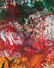 Shozo Shimamoto, Splash of Passion; Courtesy of the artist and Macey & Sons