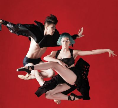 Dancers (From Left): Xia Jun, Lauma Berga Creative: Design Army Photography: Dean Alexander