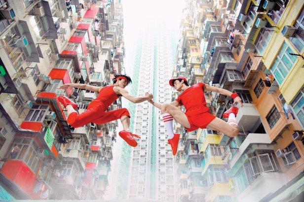 Dancers (From Left): Shen Jie, Li Lin Creative: Design Army Photography: Dean Alexander