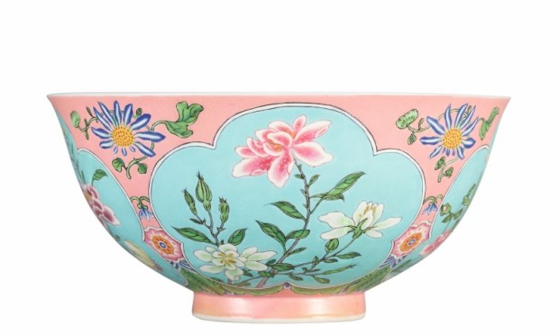 1. HK0797 - A Superbly Enamelled, Fine And Exceedingly Rare Pink-Ground Falangcai Bowl 2 (Small).jpg
