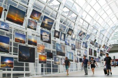 """『風雲際會』天氣景象『海、陸、空』全接觸展覽 """"Cloud-sourcing: In Touch with Weather from Land, Sea and Air"""" Exhibition"""