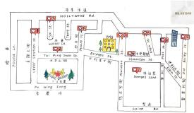 由上環差館上街到中環奧卑利街,步行路程只需20分鐘! Simple and easy route - ONLY 20 MINS of walking from Upper Station Street in Sheung Wan to Old Bailey Street in Central!