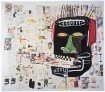 Glenn, Jean-Michel Basquiat, 1984, Acrylic, oil stick, photocopy and collage on canvas, 76.8 × 138.4 cm, Courtesy to the artist ©Jean-Michel Basquiat