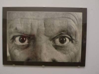 畢卡索玩拍照,強調自己雙眼,為甚麼?