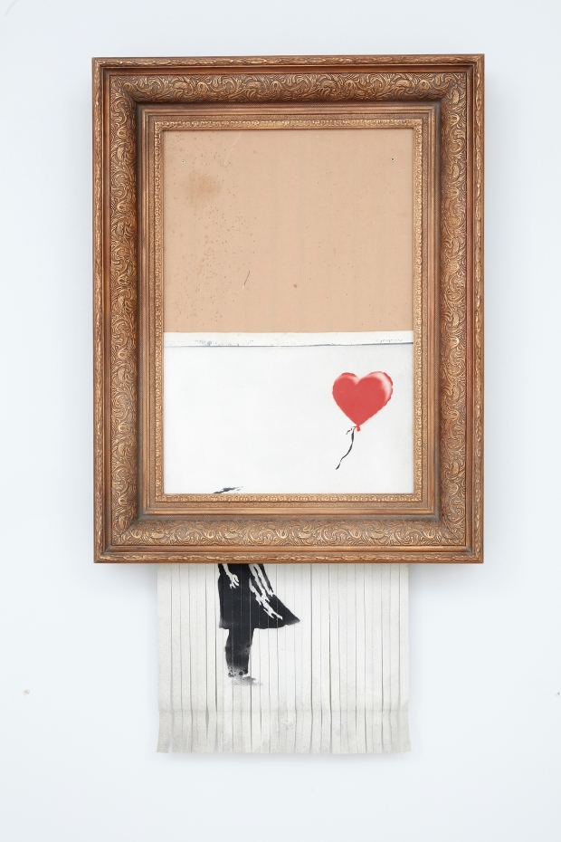 Banksy, Love is in the Bin