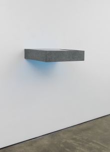 Donald Judd, Untitled, 1985. Galvanized iron and transparent light, (c) 2018 Judd Foundation (ARS), New York, Courtesy Judd Foundation and David Zwirner (2); Courtesy of the artist and Sinclair