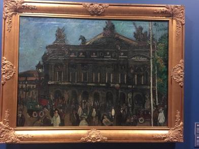 劉海粟,巴黎聖母院,布面油彩,73.5x100厘米,1919