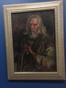 劉海粟,羅丹模特兒,布面油彩,92.2x65.2厘米,1931